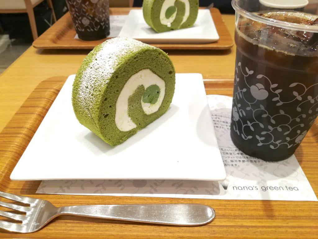 nanasgreentea(ナナズグリーンティー) 抹茶 緑茶 スイーツ 浜松市野カフェ