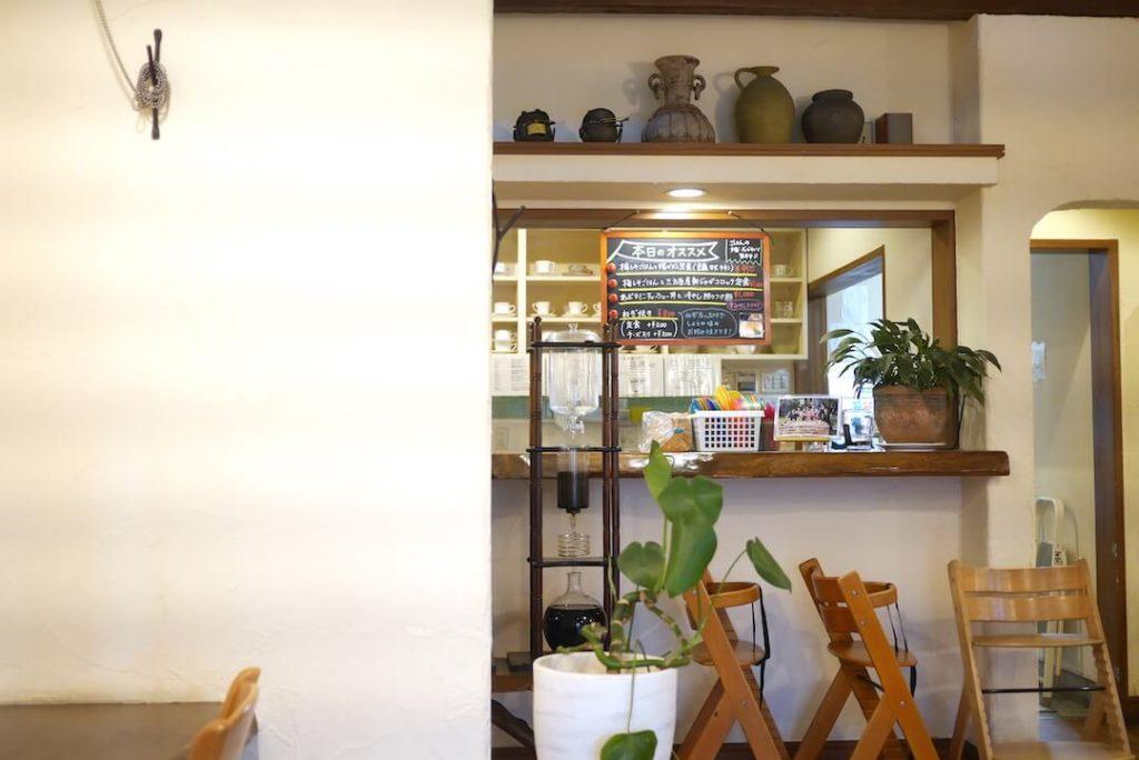レストランこくりこ大山店 浜松市カフェ内観
