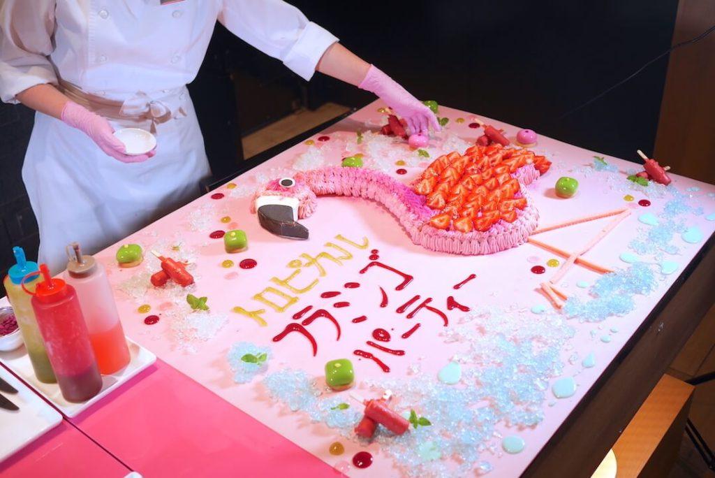デザートビュッフェ ヒルトン名古屋 フラミンゴパーティー