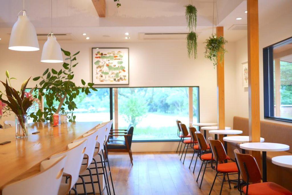 KIMIKURA CAFE(きみくらカフェ) 掛川市 抹茶 日本茶カフェ 店内