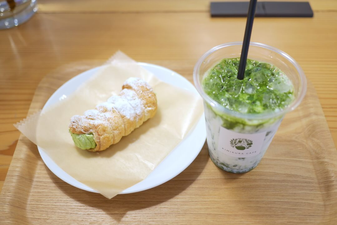 KIMIKURA CAFE(きみくらカフェ) 掛川市 抹茶 日本茶カフェ コルネ