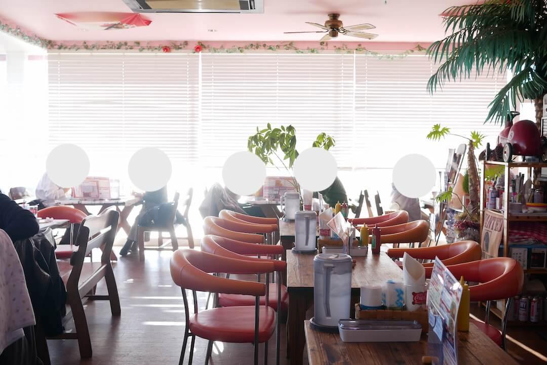 リーダー LEADER 弁天島店 ハンバーガー ハワイアン アメリカン リゾート 絶景 ビュー