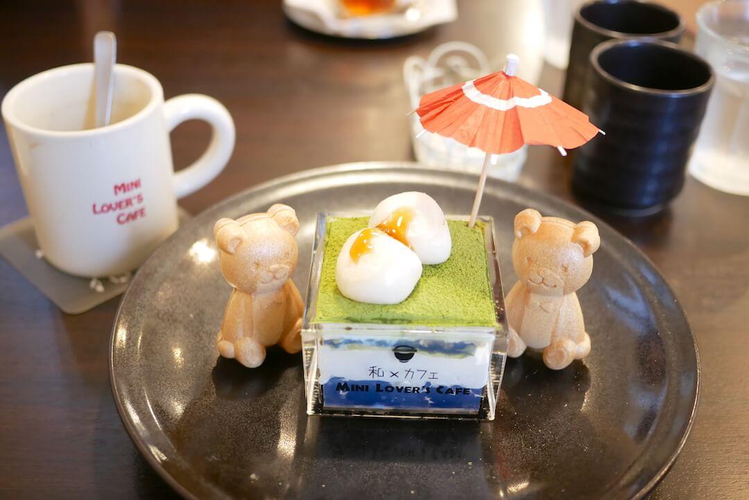Mini Lover's Cafe(ミニラバーズカフェ)各務原カフェ 和食ランチ 和スイーツ インスタ映え