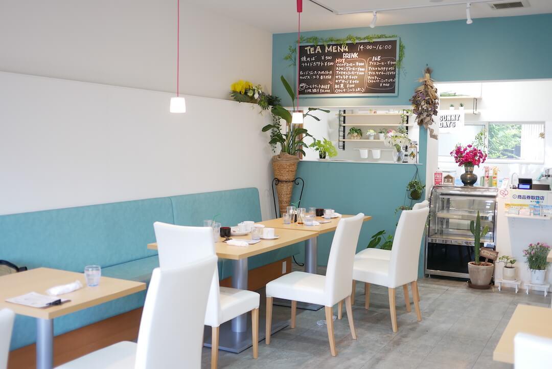 cafe SUNNY DAYS 岐阜カフェ 安八郡神戸町 モーニング メニュー