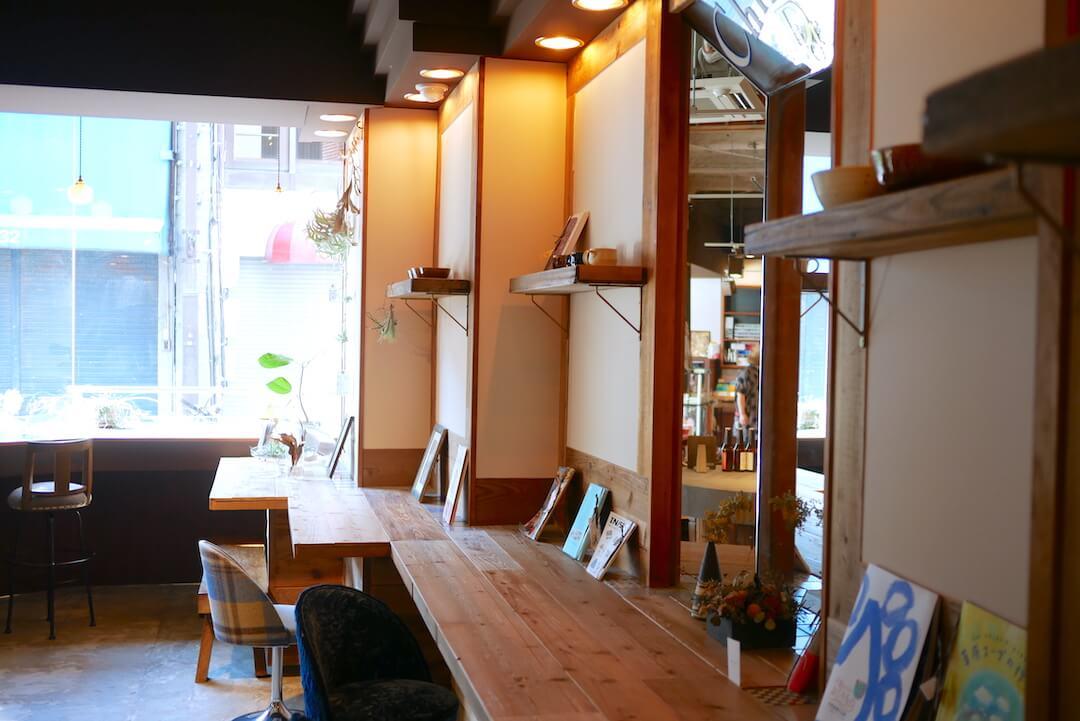 喫茶わに 多治見市 岐阜カフェ ブックカフェ 本屋 ヒラクビル スイーツ