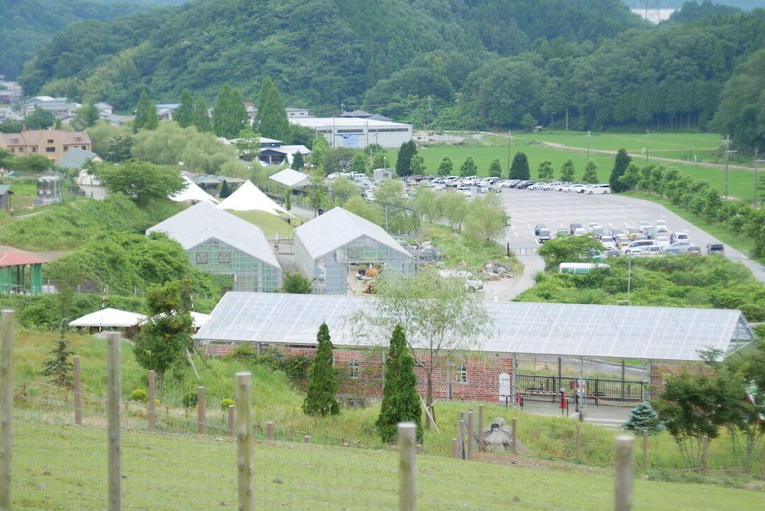 ヒルサイドカフェTearoom ローザンベリー多和田 滋賀県米原市 カフェ ひつじのショーン