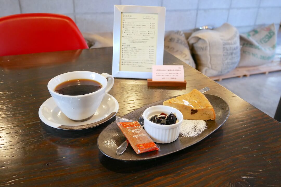 【岐阜市】珈琲Yu-A(ゆーあ)コーヒー専門店 おやつ