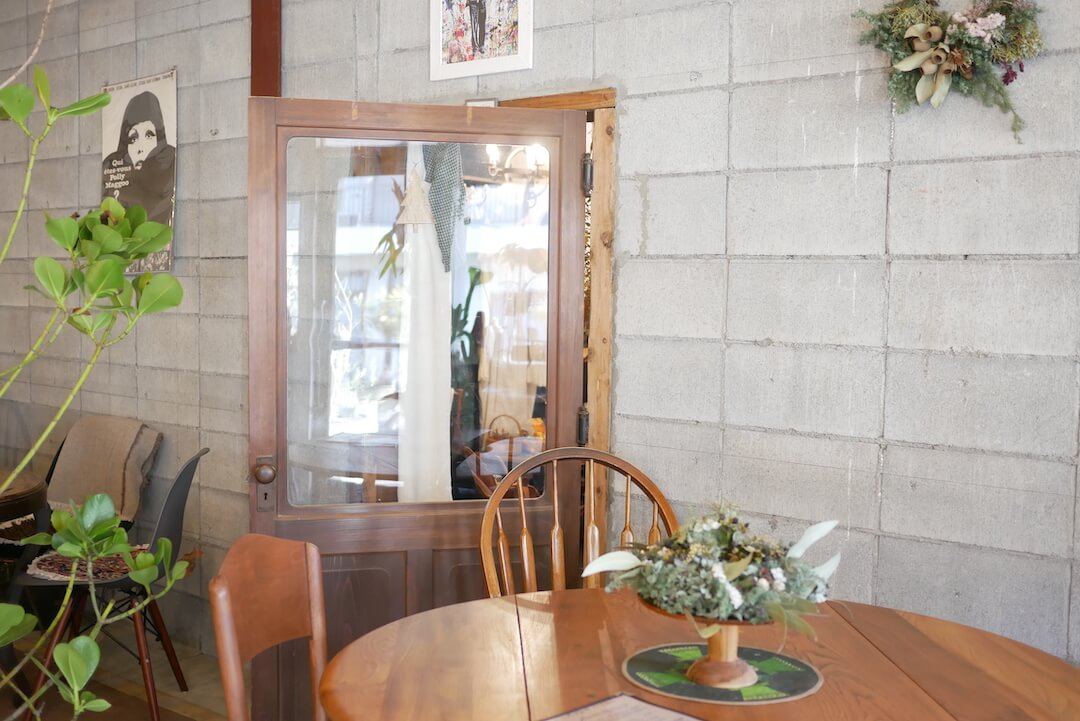 【岐阜市】plants cafe gifu(プランツカフェギフ) 岐阜カフェ ボタニカル 植物 雑貨 パフェ スイーツ ワッフル