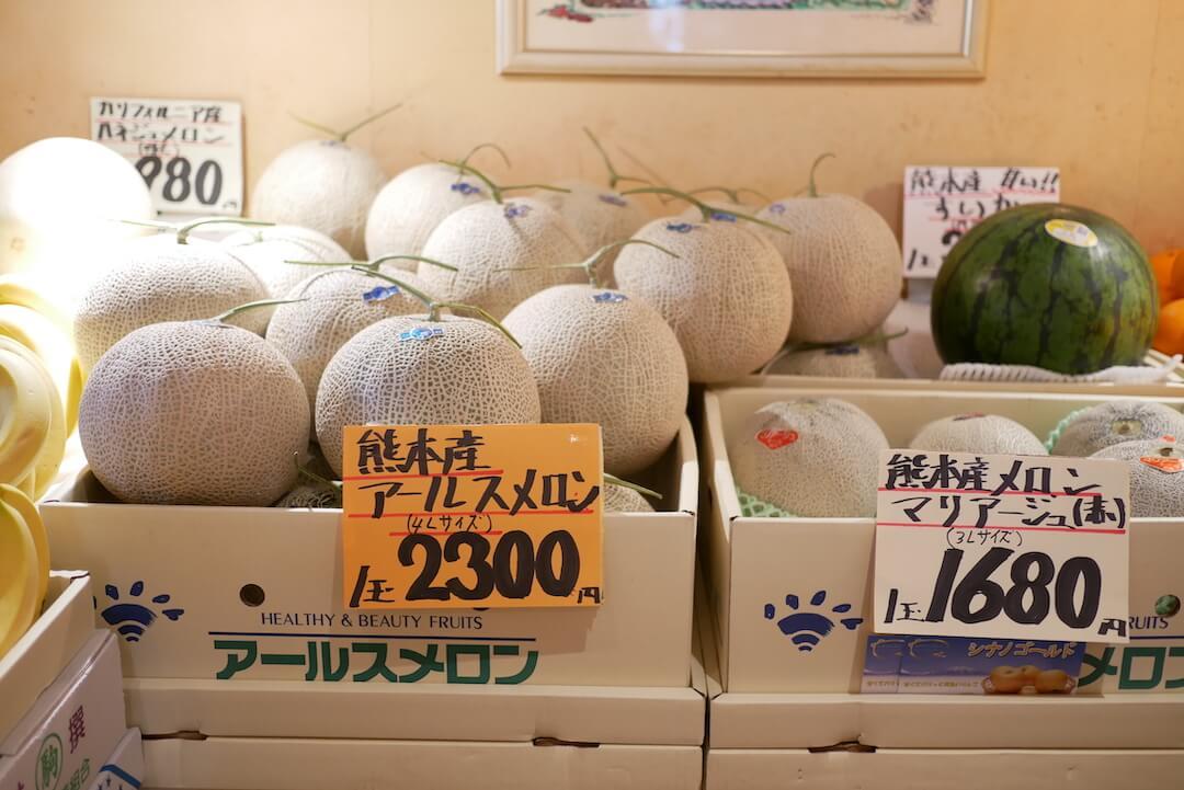 【各務原市】果実香 岐阜カフェ モーニング フルーツ 果物 メロンジュース