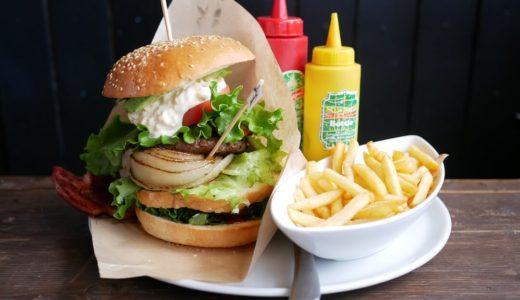 【岐阜市】energy cafe Open Sesame(エナジーカフェオープンセサミ)唐揚げのっけタルタルオムライスとスペシャルバーガーランチがボリューム映え!