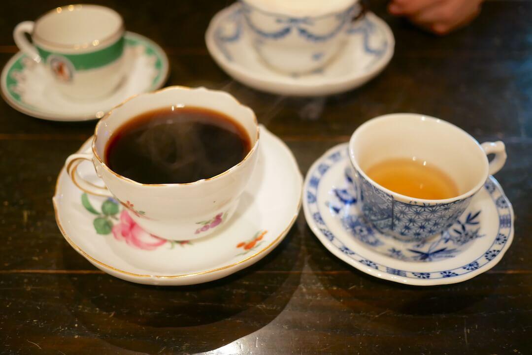 【岐阜市】プティ・ミュゼ シェ・ドーム 岐阜駅 岐阜カフェ コーヒー アンティーク 純喫茶