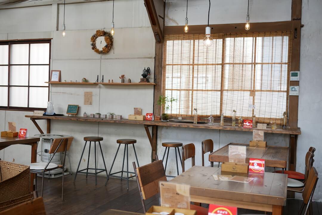 ゆたかふぇ YUT@CAFE 愛知 一宮カフェ ランチ オムライス スイーツ リノベ 廃工場 古民家