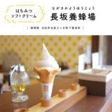 長坂養蜂場 ソフトクリーム はちみつ