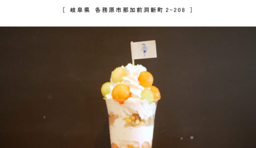 【各務原市】はしもとアイスストア・ティーンに大人気!フルーツパフェ・かき氷・映えアイスクリーム♪